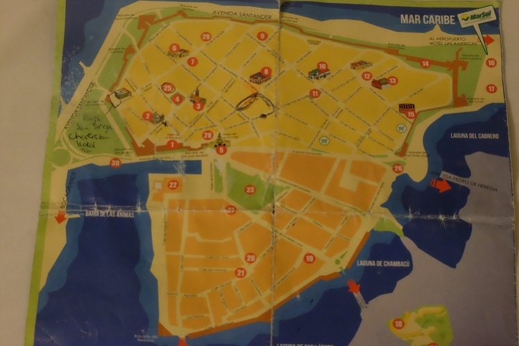 Cartagena Map