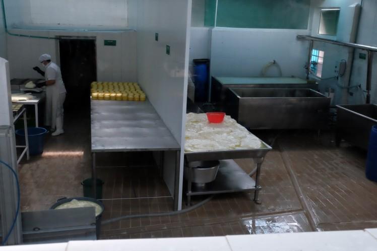 inside the queseria
