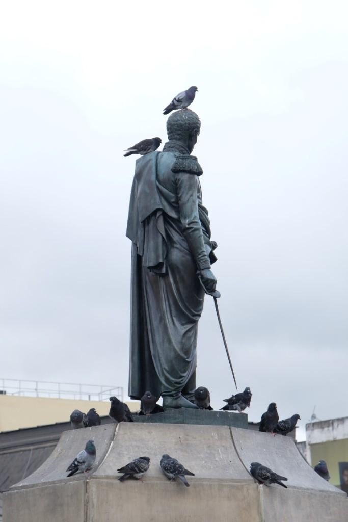 Bolivar statue